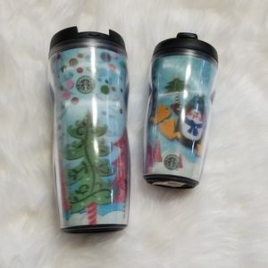 New! Starbucks Holiday 2004 ToGo Cup Set